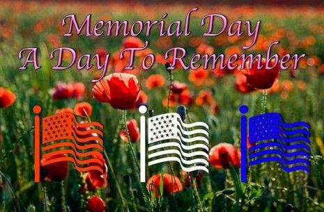 memorial day flag status