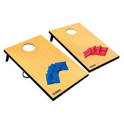 Triumph Sports USA Premium 2-in-1: Bag Toss and 3-Hole Washer Toss