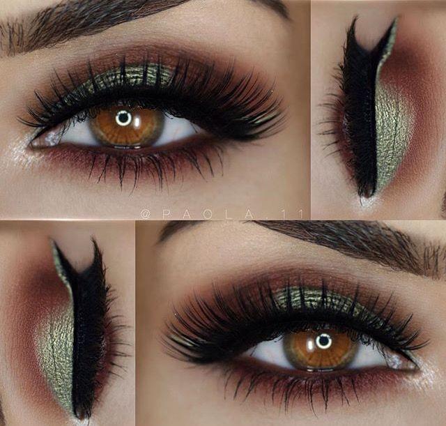 Eye Makeup images of smokey eye makeup : Pin by mya on makeup : Pinterest : Makeup, Cat eyeliner ...