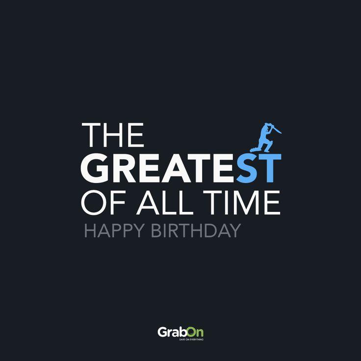 To the man who ignited a billion hearts; inspired a billion dreams.  To the man who puts the ST in Greatest.   #HappyBirthdaySachin #SachinTendulkar #SachinABillionDreams #cricket #ipl #hero #inspiration