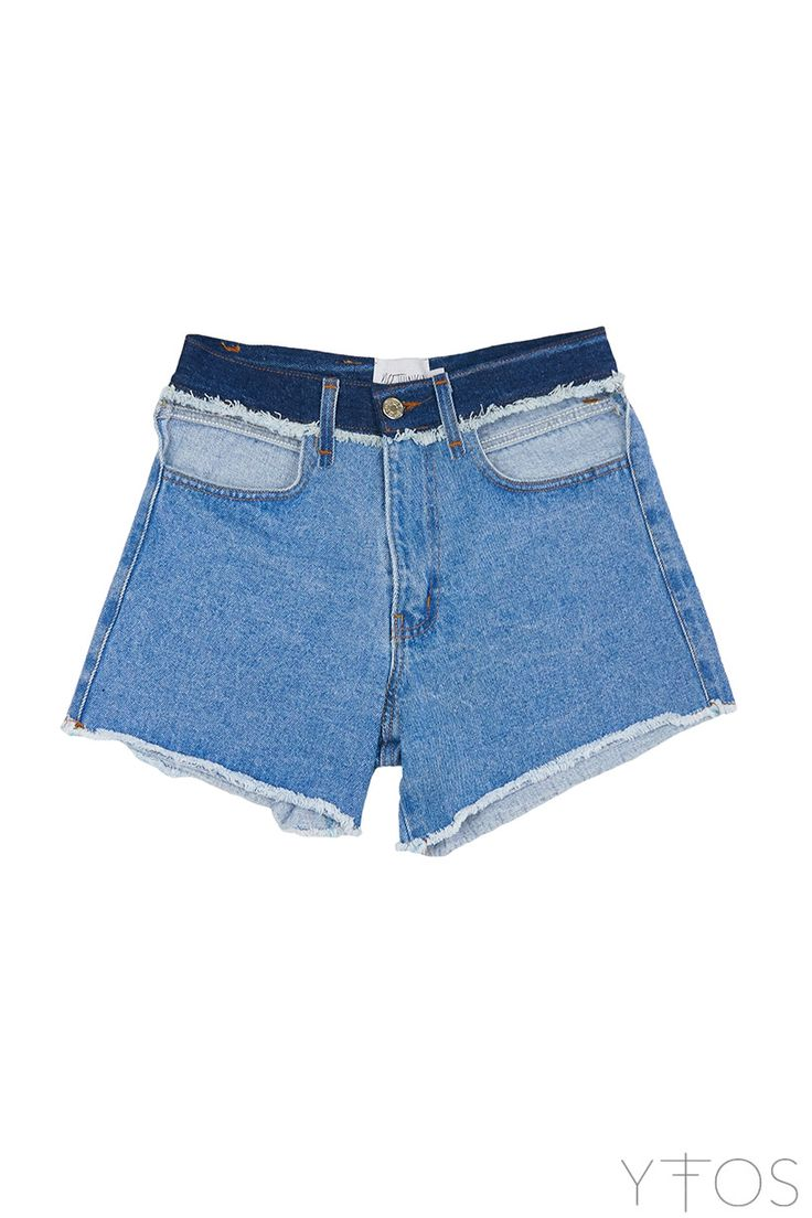 Yfos Online Shop | Clothes | Denim | Blossom Jean Shorts by No Thinkin