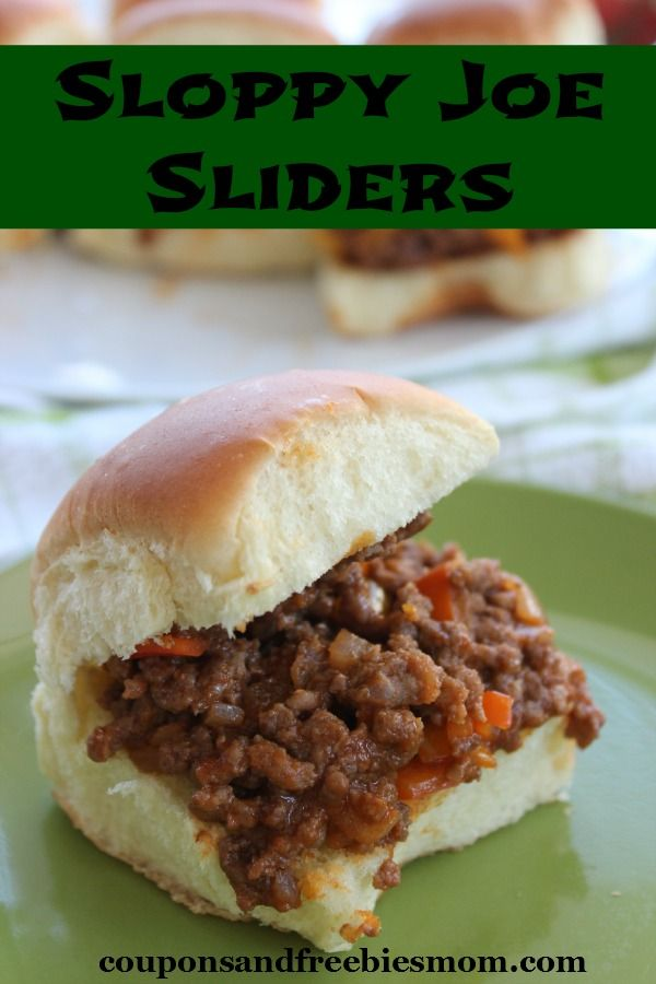 Sloppy joes coupons