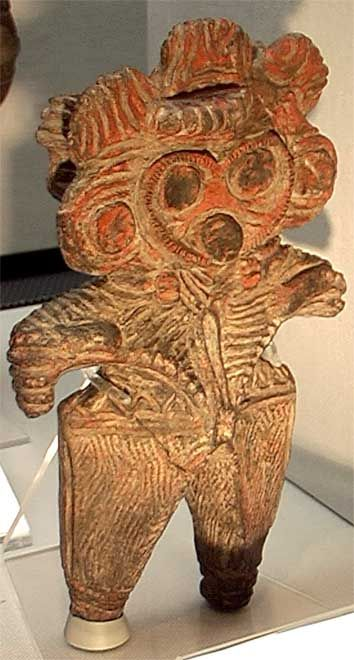 Mimizuku Dogu, Japan 縄文時代後期  2000-1000 BCE