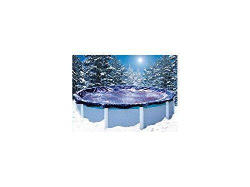 Garden Leisure CO81833 Bâche d'hiver ovale piscine hors sol: Protège la piscine des salissures (poussières, feuilles, insectes) Elimine les…