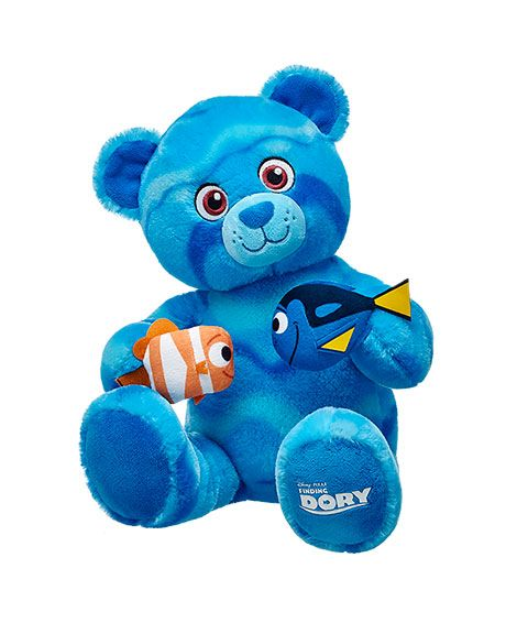 New Finding Dory Build-A-Bear Characters Available Now