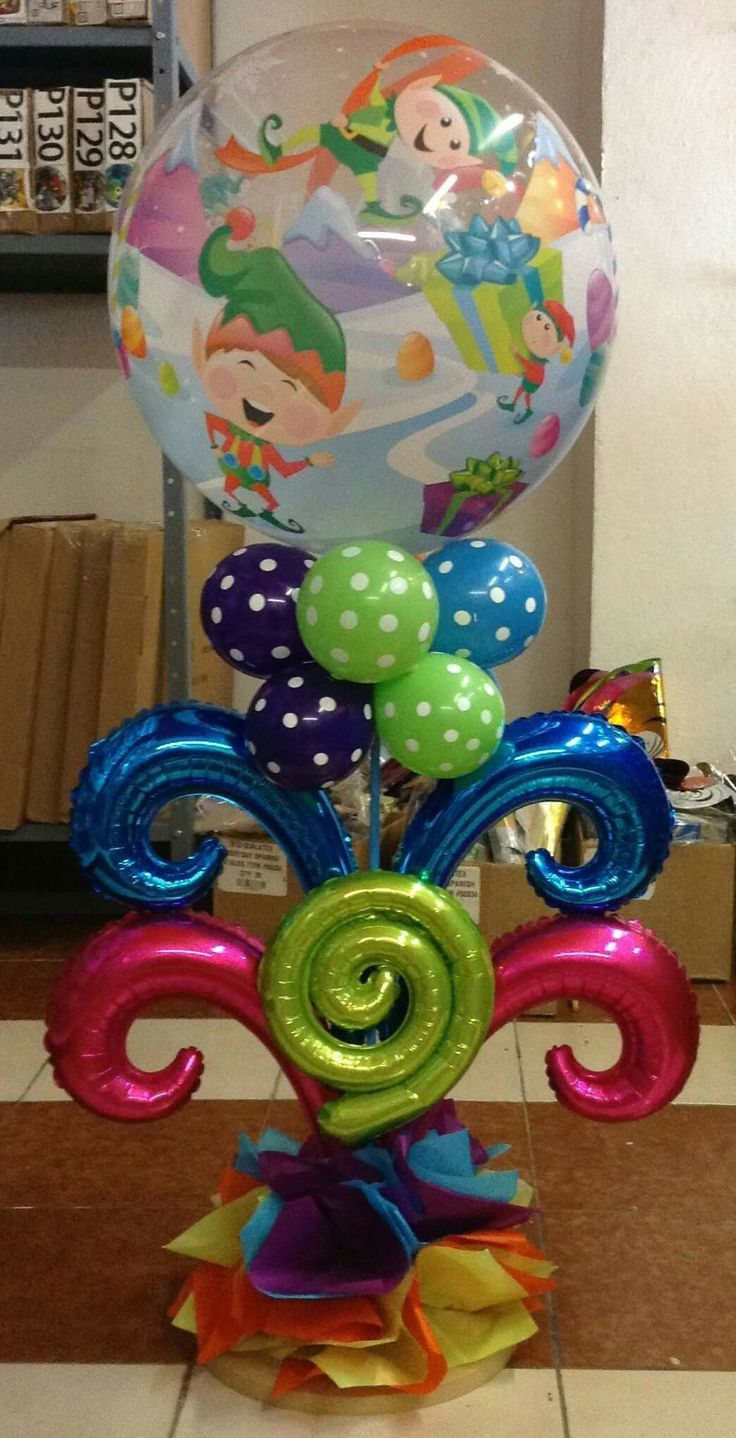17 best images about christmas balloon decor on pinterest for Balloon decoration guide