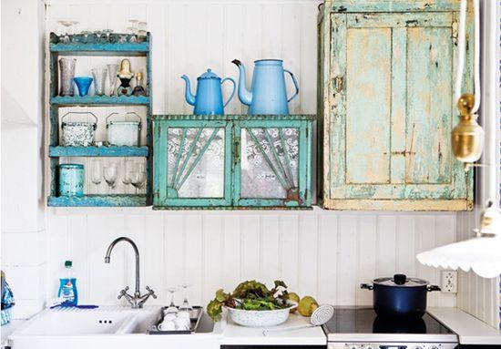 wat dacht je van verschillende stijlen keukenkastje?
