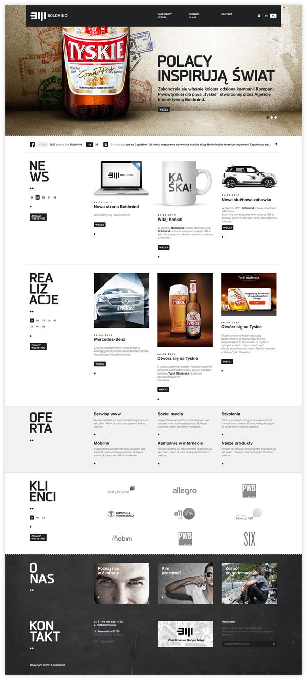 Boldmind | #webdesign #it #web #design #layout