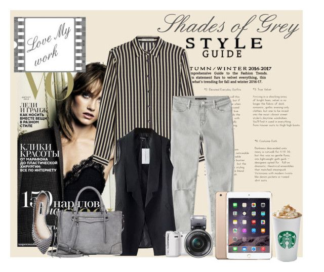 """""""my work"""" by oripandora on Polyvore featuring Etro, Abercrombie & Fitch, Sony, Rebecca Minkoff and Steve Madden"""