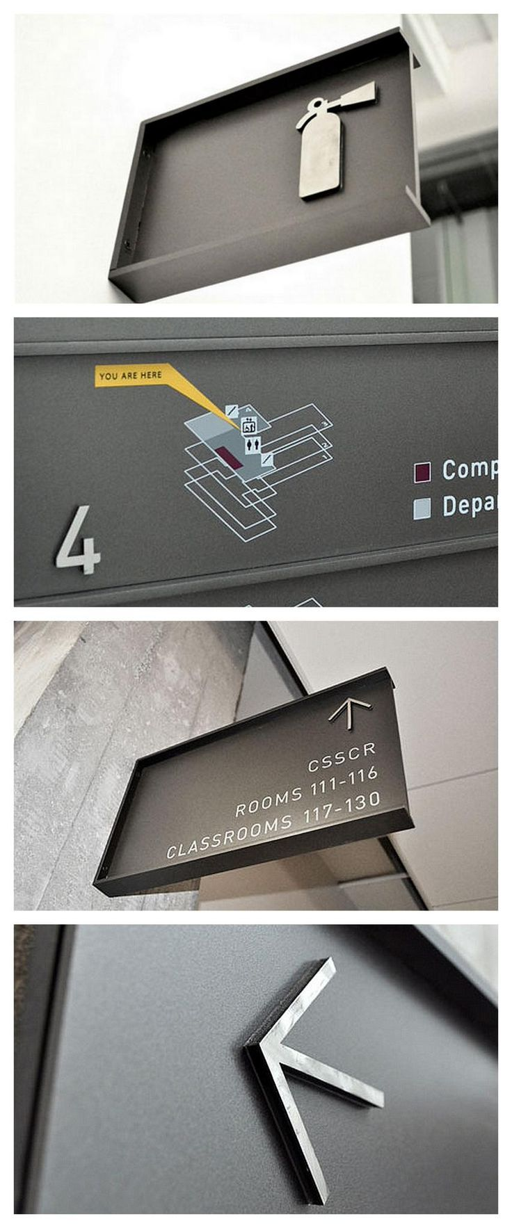 Beautiful design and build in this signage by Signitecture #signage and #wayfinding