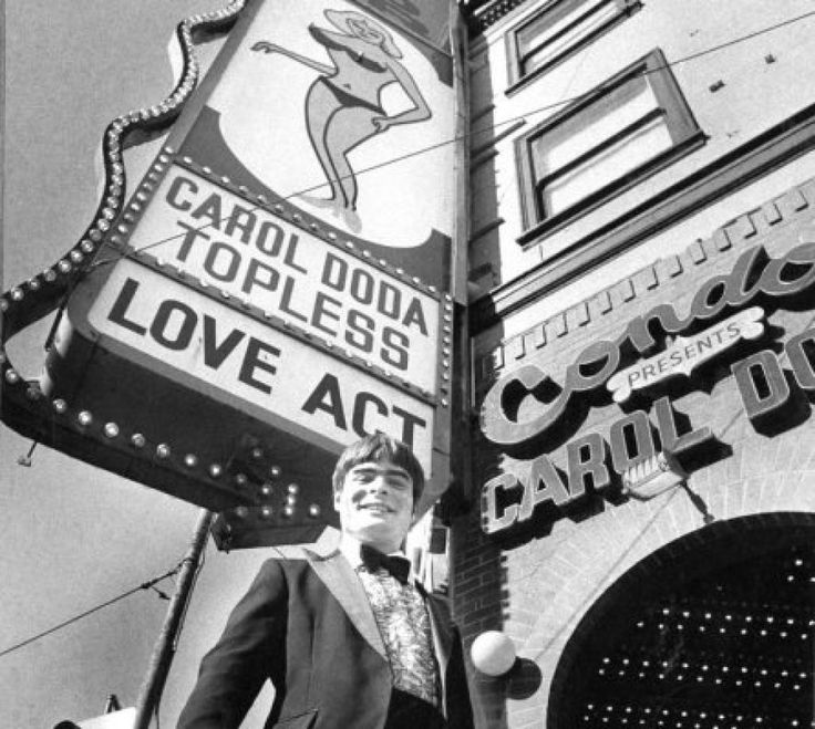 The Condor Club advertised Carol Doda performances in 1982 | SF legend Carol Doda dies at 78 | 9 Nov 15