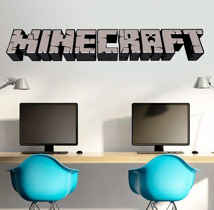Vinilo decorativo Minecraft