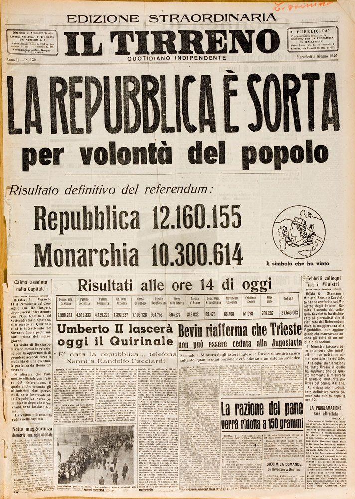 05 giugno 1946