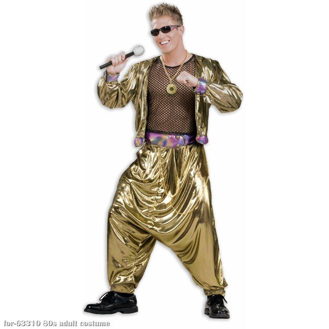 80s Mc Hammer Adult Costume Can T Touch This Live On As The 80s