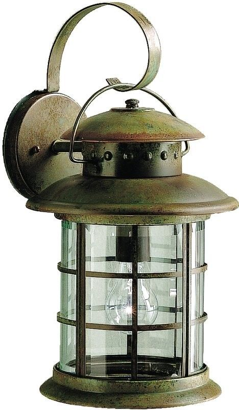 Rustic Outdoor Wall Lighting | Kichler 9761 Rustic / Country 1 Light Outdoor Wall Sconce from the New ...