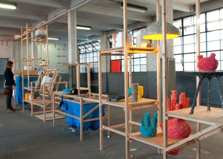 C-Fabriek production lines curated by Itay Ohaly and Thomas Vailly