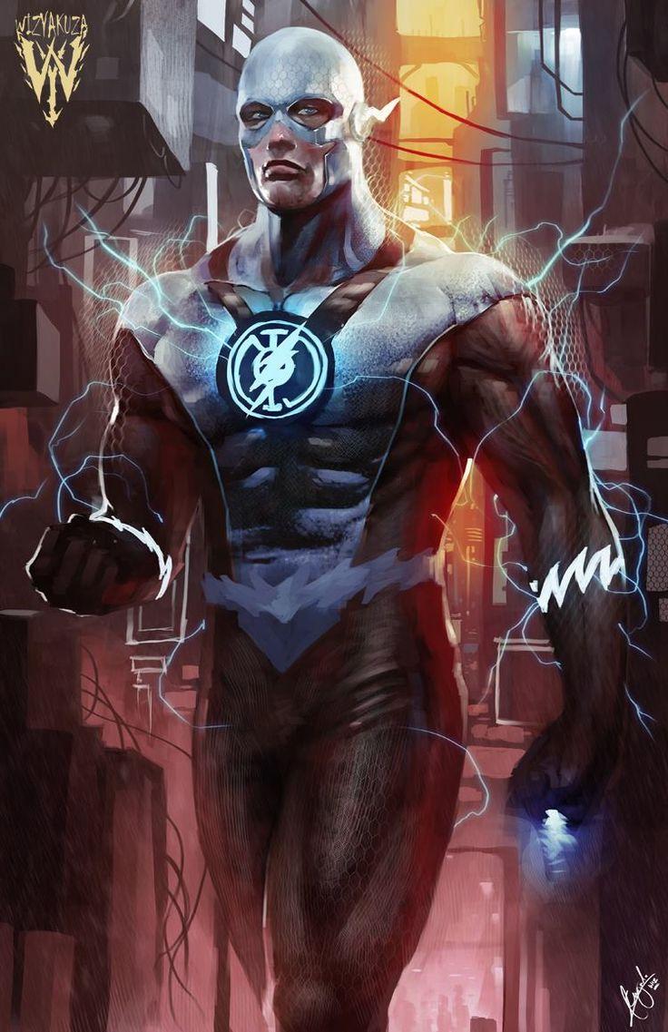 Blue Lantern Flash by Wizyakuza   Ceasar Ian Muyuela *