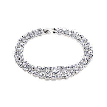 BR8083 Rhinestone Bracelet Clear - from Newbridge Silverware online store Ireland