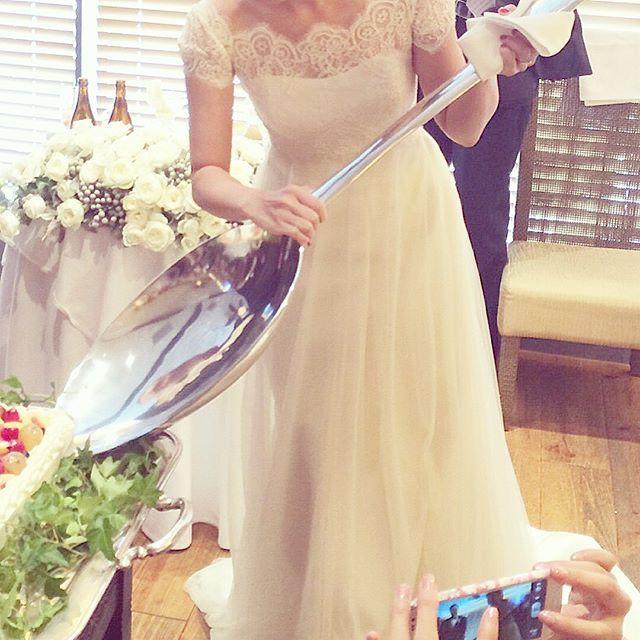 よく質問を受ける、ビッグスプーンの購入先をブログにupしたので、気になる方はご確認ください♡ .. #natsuwedding #結婚式 #プレ花嫁 #ビッグスプーン #ファーストバイト #スプーン #結婚準備 #サプライズ