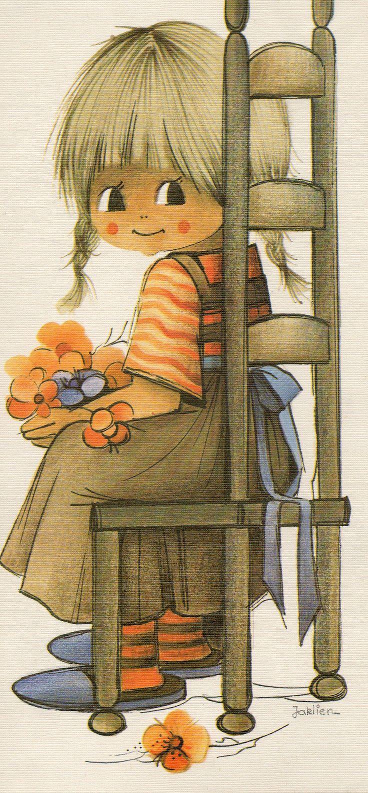 By Jaklien Moerman. Ohh, precious. Those little braids.