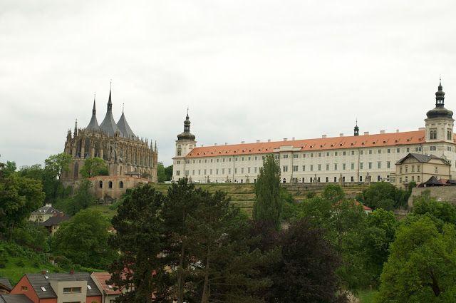 Perjalanan ke kota Kutna Hora Czech Republic