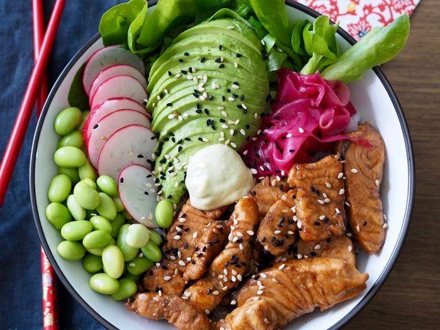 Sushi Bowl by Makuja kotoa