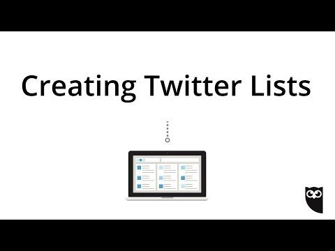 How to Create Twitter Lists in Hootsuite - YouTube