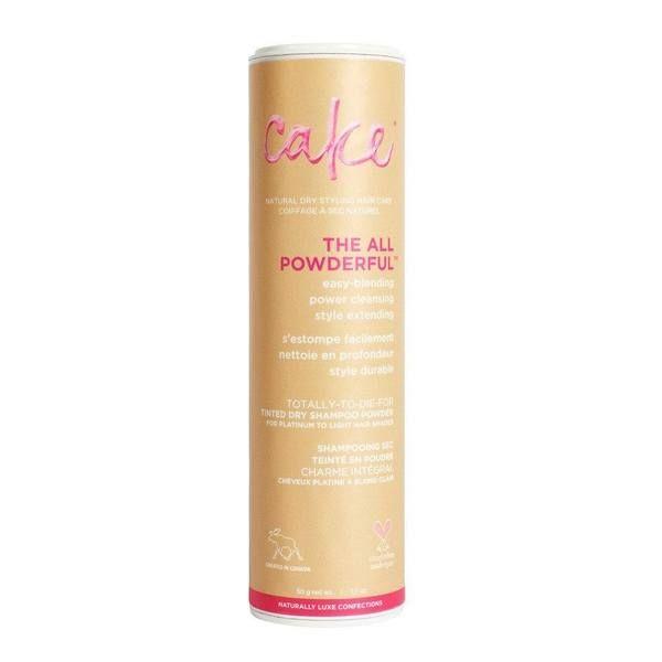 Cake The All Powderful Hair Powder Dry Shampoo In Light Vegan Hair Powder Shampoo Powder Dry Shampoo