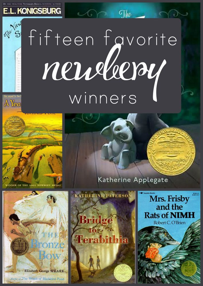 The best of the best Newbery winners!