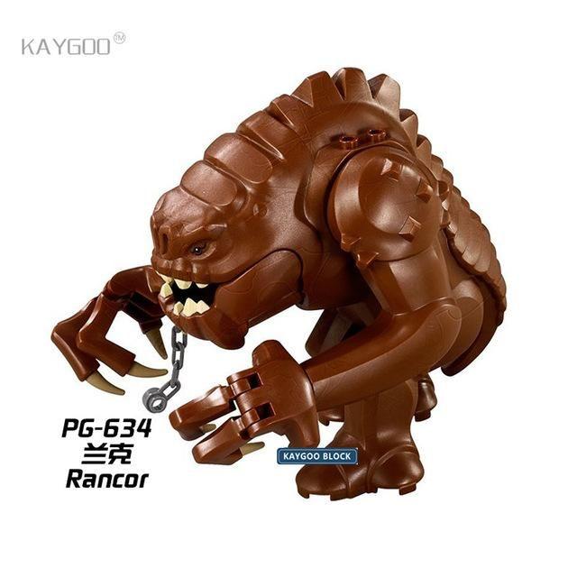 Star War Jabba's Rancor Smaug Figures