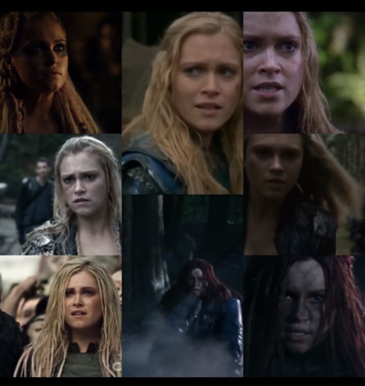 Eliza Jane Taylor aka Clarke Griffin Some people are called to Lead, Clarke was born for it.
