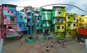 verso le favelas di Rio de Janeiro