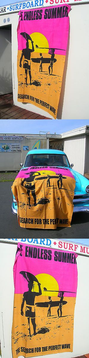 Other Surfing 2916: Vintage Style Super Huge Endless Summer Surf Movie Poster Banner Surfboard Wow -> BUY IT NOW ONLY: $79 on eBay!