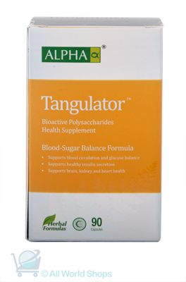 Tangulator - Blood Sugar Balance Formula - Alpha - 90 capsules   Shop New Zealand NZ$100