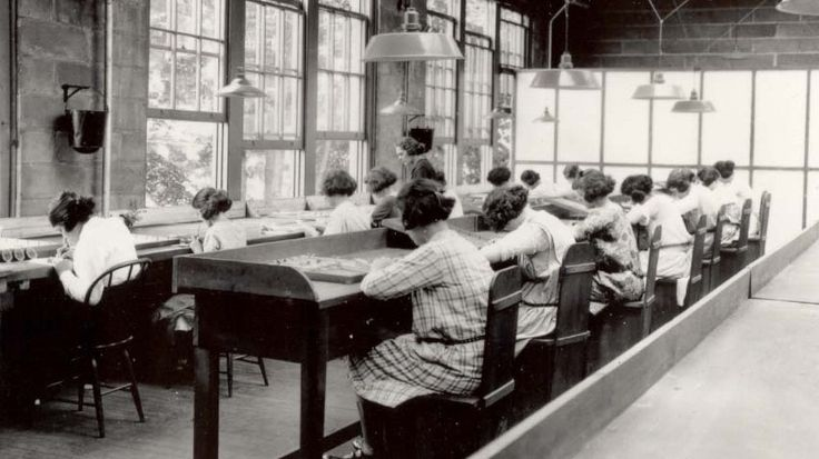 "ARTICLE - History of the ""radium girls"" - In the 1920s, working-class women were hired to paint radium onto glowing watch dials — and told to sharpen the brush with their lips. Dozens died within a few years, but Keane quit, and survived."