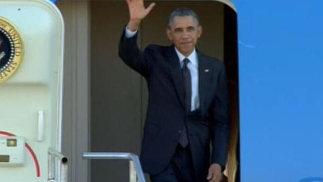 President Obama has arrived for G20 Brisbane Australia