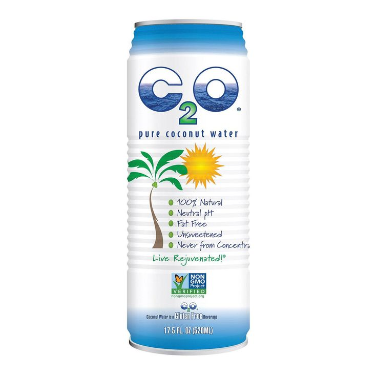 C2o Pure Coconut Water Pure Coconut Water - Case Of 12 - 17.5 Fl Oz