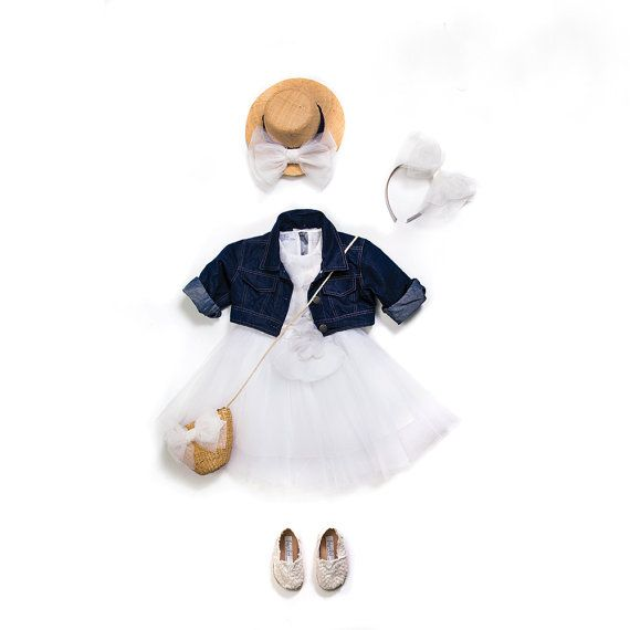 Girl Outfit 3pcs  Baptism outfit Christening by letsdecorateonline