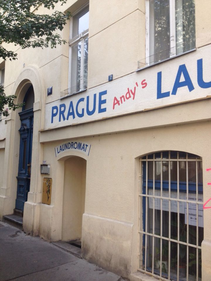 Only laundromat in Prague. Great place, good price. Hard to believe that a place like Praha has only 1 laundromat. Where do tourist staying a while do laundry?