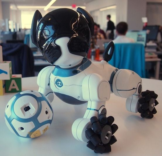 this robot dog will come when you call it