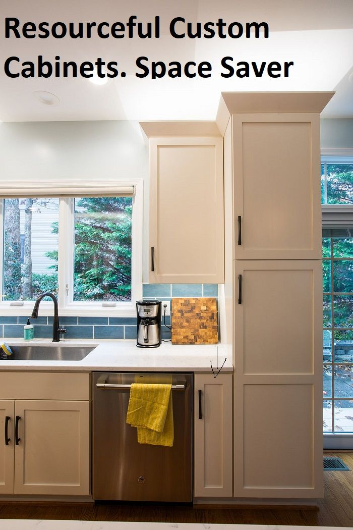 Custom Cabinets Using Space Wisely Making It Work For You