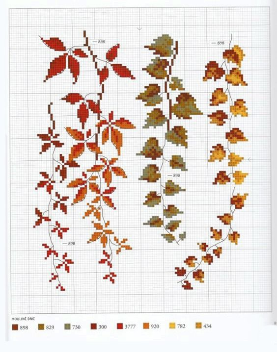 Autumn inspiration: 45 cross stitch patterns