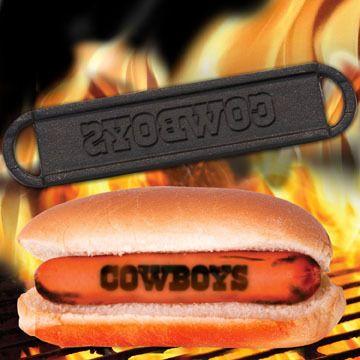 Dallas Cowboys Hot Dog Brander.
