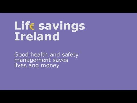 IOSH's Lif€ Savings campaign has been launched in Ireland to show how good health and safety management saves lives and money.  Hear how Janssen Pharmaceutical saved €2 million in one year by investing in health and safety, and watch interviews with government figures about the business case for health and safety in Ireland.  Find out how your business can protect people as well as profits at  http://www.iosh.co.uk/lifesavingsireland.