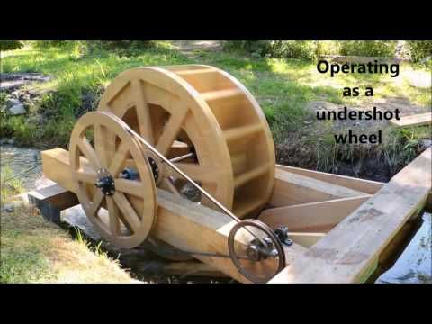 Make Your Own Water Wheel - YouTube
