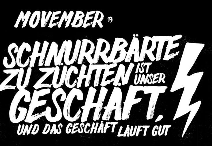 Movember 13 | #movember #schnurrbart #mustache #menshealth #krebs #hodenkrebs #prostatakrebs #aktion