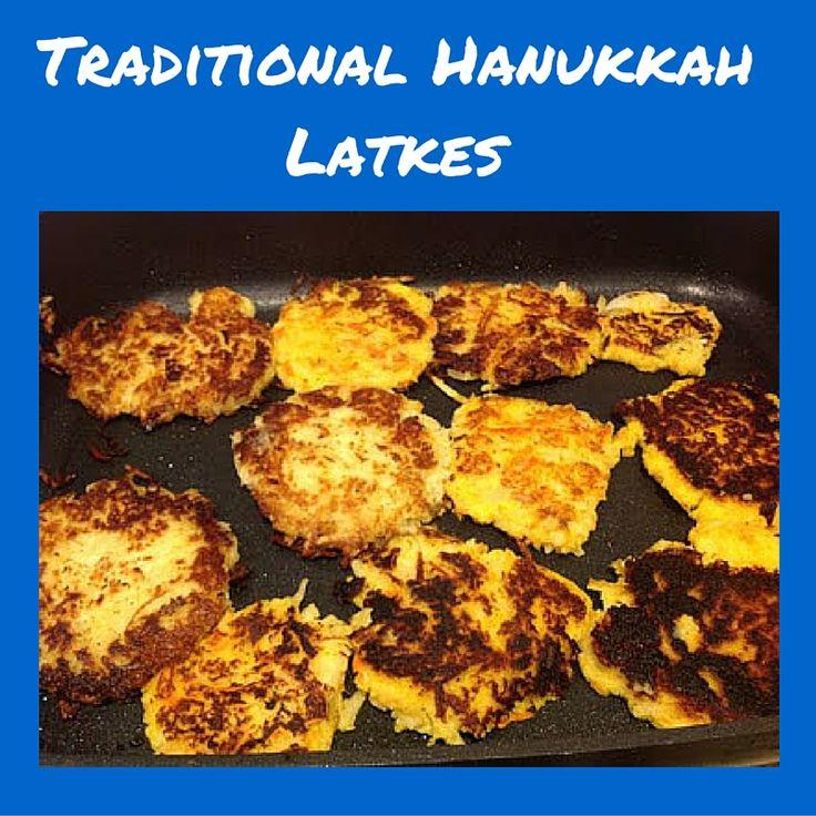 Gluten Free A-Z :  Easy Hanukkah Latke Recipe #GF