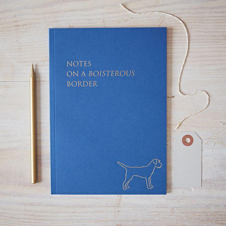 Border Terrier Notebook, border terrier stationery, borderterrier gift, border terrier present, border terrier christmas, border terrier by Bottlegreenhomes on Etsy https://www.etsy.com/uk/listing/494026561/border-terrier-notebook-border-terrier