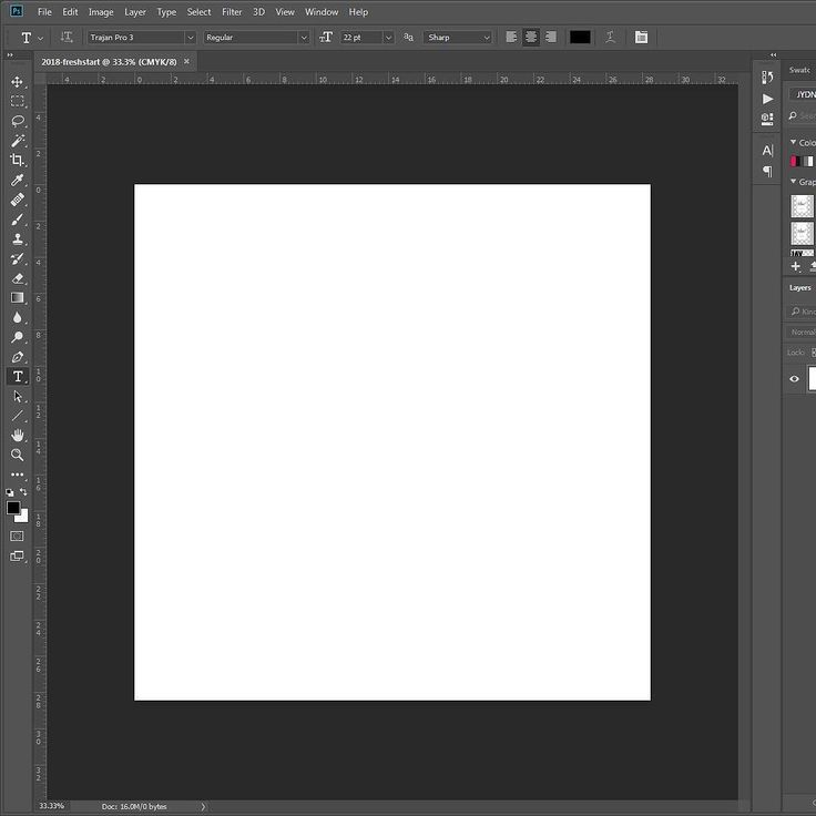 2018: A blank canvas. Another chamber in the clip. Another year of blank documents becoming artwork. Raw images becoming amazing keepsakes. I opened Photoshop today and said Lets fucking do this. #itsjaydaniel #thedreamersblueprint #purpose