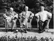 1945 – The Potsdam Declaration is signed in Potsdam, Germany. | Potsdam Conference in 1945 with Winston Churchill , Harry S. Truman ...